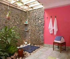 ARREDAMENTO E DINTORNI: bagni incredibili (la giungla nella doccia)