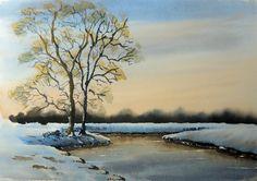 Geoff Kersey Snow scene