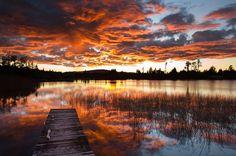 Te Kinga on Fire by Wayne Lorimer, via 500px