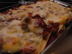Recipe by Trisha Yearwood. Cowboy lasagne with pepperoni, sausage & ground beef.