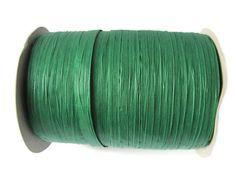 100 Yards Emerald Green Paper Raffia Ribbon  Full by TheJoyfulCup, $5.99
