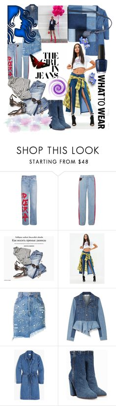 """""""Trendy"""" by noelia-ferreiro ❤ liked on Polyvore featuring noelia, R13, Koché, Missguided, Forte Couture, Sea, New York, J.Crew, Dries Van Noten and Kate Spade"""