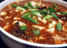 Как готовить китайский суп кислоострый
