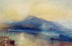 William Turner - Le lac de Lucerne 1815