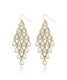 Another great find on #zulily! Gold Mini Teardrops Chandelier Earrings #zulilyfinds