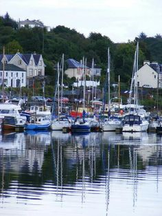 """Tarbert in Argyll #ILoveScotland """"Tarbert in Argyll a lovely little fishing port with fab restaurants and beautiful surrounding…"""" — Claire Smith http://disq.us/8dq6ic"""