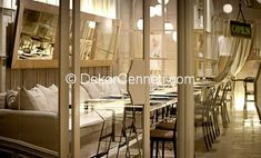 Yeni Moda restoran dekorasyon Resimleri