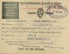 ship-ticket-560.jpg Below is a train ticket, Pembroke V is one of the code names for Bletchley Park.