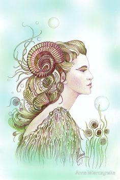 Aries | Zodiac Signs by Anna Miarczynska