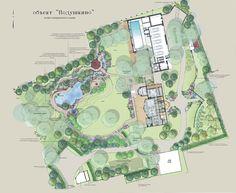 Ландшафтный сад с прудом в Подушкино - ARCADIA GARDEN Landscape studio