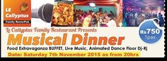 Musical Dinner - see more on http://ift.tt/1LlAP29 #events #mauritius