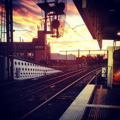 Train station#melbourne