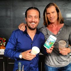 "Is ""Fabio"" really making me a Healthy Shake ?? WTF ?? Fabio&Fabio GanGnam style !!"
