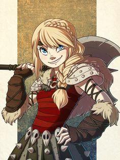Astrid by MagnaStorm.deviantart.com on @deviantART