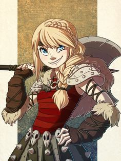 How to Train your Dragon | Astrid by MagnaStorm