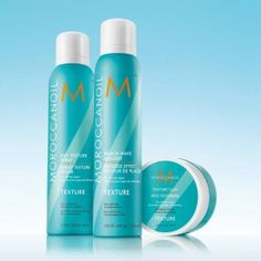 From roughed-up glam to tousled tresses, experience a new take on texture with the Moroccanoil's NEW Texture Collection! Featuring three argan oil-infused products designed to create beautiful, undone style on any hair type. Buy any two products from the Texture Collection and receive 10% off - right now at The Looking Glass Beauty Lounge in Central, Louisiana!