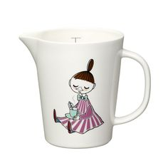 Moomin Celebration Juice Pitcher - Tove Slotte-Elevant - Arabia - RoyalDesign.com