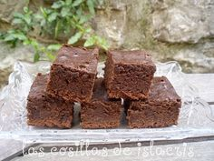 Receta Brownie en FUSSIONCOOK para Las cosillas de islacris Chocolate, Cooking, Desserts, Food, Mug Brownie Recipes, Desert Recipes, Fairy Cakes, Pound Cake, Pots