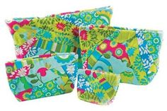 Scrappy Quilted Cosmetic Bags Sewing Pattern by Pat-e-Patterns