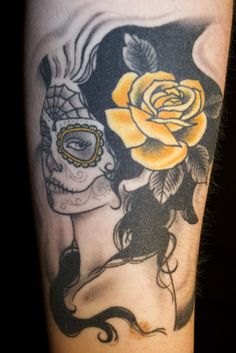 That is one of the best Sylvia Ji inspired tattoos I've seen! Lovely!