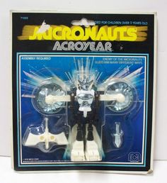 Micronauts Acroyear - want a carded one so bad!