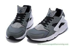 sapatilhas running online Escuro Cinza Nike Air Huarache 654275-001 Masculino