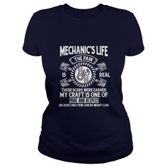The Mechanic's Life T Shirt - Mens Premium T-Shirt  #gift #ideas #Popular #Everything #Videos #Shop #Animals #pets #Architecture #Art #Cars #motorcycles #Celebrities #DIY #crafts #Design #Education #Entertainment #Food #drink #Gardening #Geek #Hair #beauty #Health #fitness #History #Holidays #events #Home decor #Humor #Illustrations #posters #Kids #parenting #Men #Outdoors #Photography #Products #Quotes #Science #nature #Sports #Tattoos #Technology #Travel #Weddings #Women
