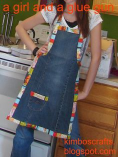 Diy Projects: Turn Old Jeans into Amazing Apron