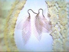 PET diy-feather-earrings