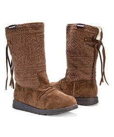 Love this Aged Rope Barbara Pull-On Boot - Women on #zulily! #zulilyfinds