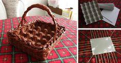 NapadyNavody.sk | Veľkonočný košík na vajíčka z papiera (Nepotrebujete prútie)