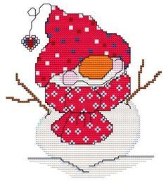 Snowball of the Month - July - DIGI CROSS STITCH