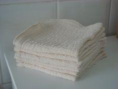 Muslin cloths  100% organic muslin by FrenchSewingBee on Etsy
