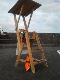 #torre #playa #vigilancia #madera