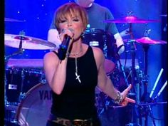 "Pat Benatar ""HEARTBREAKER"" Live 20 years later. WOW! Still rockin' out and looking spectacular here at age 48."