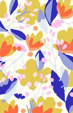 Ideas for wallpaper floral modern pretty patterns Pantone, Surface Pattern Design, Pattern Art, Colour Pattern, Flower Pattern Design, Pastel Ombre, Motif Floral, Pretty Patterns, Color Stories