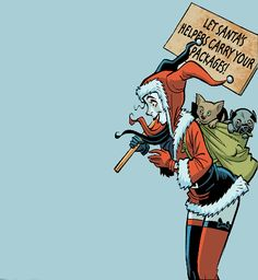 Harley Quinn in Holiday Special <3