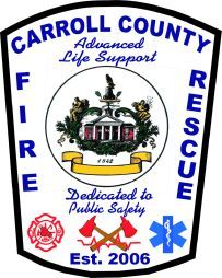 Carroll County Fire Rescue Fire Patch #Setcom