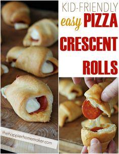 Easy Pizza Crescent Rolls