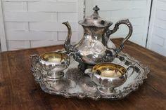 Mix and match tea set -  Southern Vintage Wedding Rental
