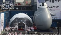 10m PVC geodesic dome tents for opening ceremonies - Pop up dome buildings - Steel dome tents with transparent front - Event dome tents for sale - Highly wind resistant dome structures - Shelter Dome (2)