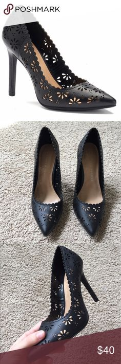Floral Heels Elegant heels that are very lightweight and comfortable on the foot. New in the box. LC Lauren Conrad Shoes Heels