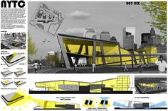 y artes Yellow ThemeYellow Theme Architecture Panel, Architecture Graphics, Concept Architecture, School Architecture, Architecture Design, Architecture Diagrams, Presentation Board Design, Architecture Presentation Board, Architectural Presentation