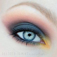 This is such a beautiful look using Makeup Geek products by Dressed In Mint.  Products available at: www.makeupgeek.com
