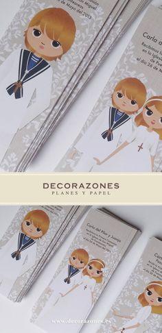 Decorazones.es _ Tres modelos de marca libros para dos primos