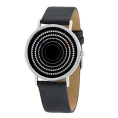 Concentra Watch--WHO KNEW there was such a large market for watches that are virtually impossible to read? This one will set you back $125...and hypnotize you if you stare at the face too long.