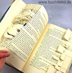 Originelles und persönliches Geschenk gesucht? Hier finden Sie Origami-Bücher mit individuell handgefalteten Motiven und Schriftzügen.