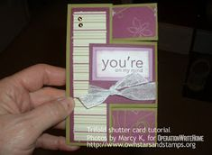 """This tutorial is labeled a  """"301"""" level card, and may be challenging for newer cardmakers. Don't get discouraged if this is not your """"thing!..."""