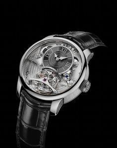 Rudis Sylva RS12 Grand Art Horloger, Loves himself a nice watch, this one is a bit much, but neat looking.