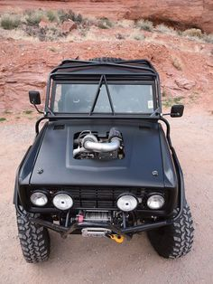 1966 Ford Bronco 1984 Cummins Diesel Engine: